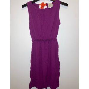 NEW Kate Spade Magenta w/ Orange String Dress Sz M